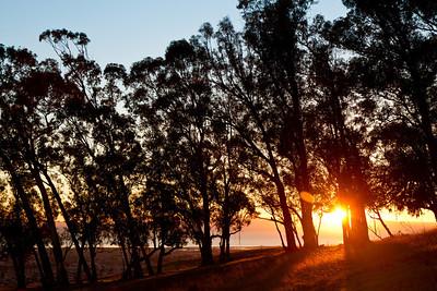 Sunset from Fairmont Ridge.